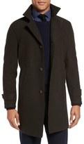 Eleventy Virgin Wool Carcoat