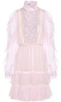 Giambattista Valli Ruffled Silk Dress