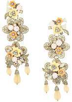 Marchesa Force of Nature Chandelier Floral Earrings Earring