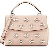 MICHAEL Michael Kors Ava Small Jeweled Satchel Bag