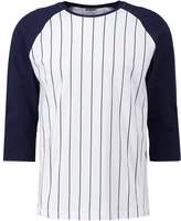Urban Classics Long Sleeved Top White/navy