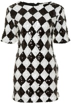 Glamorous Harlequin Dress