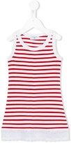 MonnaLisa striped tank top - kids - Cotton/Spandex/Elastane/Viscose - 3 yrs
