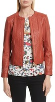 Tory Burch Women's Ryder Leather Jacket