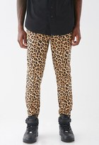 Forever 21 Leopard Print Joggers