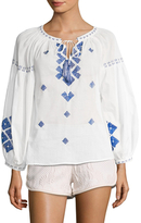 Kas Zendaya Cotton Embroidered Blouse