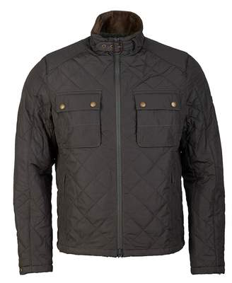 Barbour International City Box Quilt Two Pocket Jacket Colour: SAGE, S