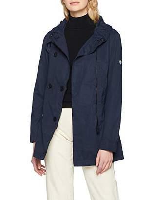 Cecil Women's 100460 Coat, (deep Blue 10128)