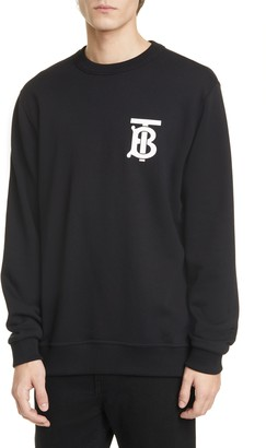 Burberry Dryden TB Monogram Cotton Sweatshirt
