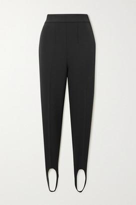 Isabel Marant Nanou Crepe Slim-leg Stirrup Pants - Black