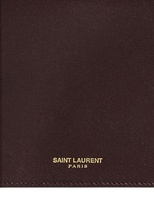 Saint Laurent Marquage Doré Document Case Clutch