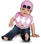 Disguise Pink Power Ranger Bib & Hat