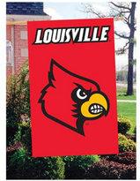 Party Animal Louisville Cardinals Applique House Flag