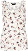 Dorothy Perkins Ivory ditsy floral vest