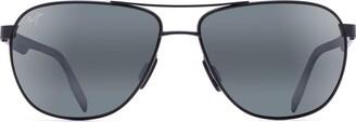 Maui Jim Sunglasses | Castles 728 | Aviator Frame with Patented PolarizedPlus2 Lens Technology