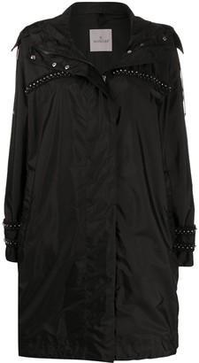 Moncler Stud-Embellished Trench Coat