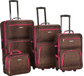 Rockland 4 Piece Luggage Set F125