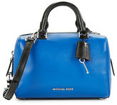 MICHAEL Michael Kors Kirby Leather Satchel