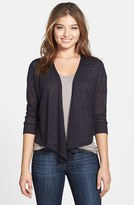 Nic+Zoe Women's '4-Way' Convertible Three Quarter Sleeve Cardigan