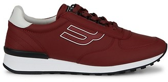 Bally Goldy Logo Leather Low-Top Sneakers