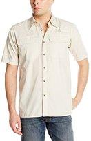 Wrangler Authentics Men's Short-Sleeve Utility Shirt