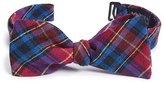 Ted Baker Plaid Silk Bow Tie