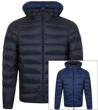 Giorgio Armani Emporio Reversible Down Jacket Black