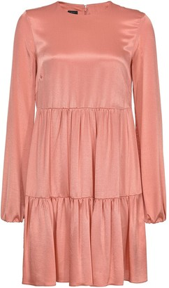 Pinko Adrenalina satin dress