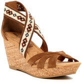 Minnetonka Drew Wedge Sandal