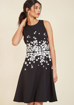 ModCloth Self-Made Majesty Fit and Flare Dress in 0