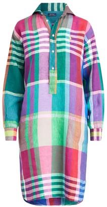 Polo Ralph Lauren Madras Casual Shirtdress