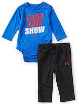 Under Armour Baby Boys Newborn-12 Months I Run This Show Bodysuit & Pants Set