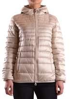 Invicta Women's Beige Polyamide Down Jacket.