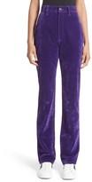 Marc Jacobs Women's Flocked High Waist Disco Jeans