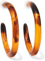 Dinosaur Designs Resin Hoop Earrings - one size