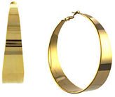 Vince Camuto Gold Tapered Hoop