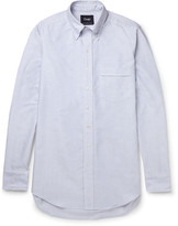 Drakes Drake's - Slim-Fit Striped Cotton Oxford Shirt