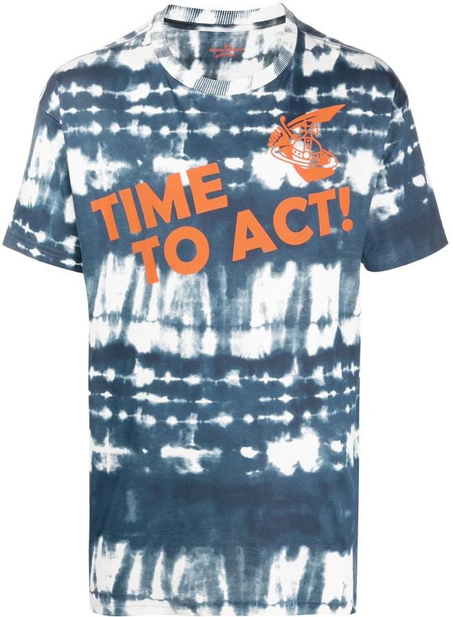 Vivienne Westwood tie-dye print T-shirt