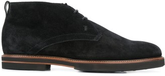 Tod's Lined Desert Boots