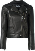 Karl Lagerfeld fitted cropped jacket