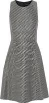 Theory Trekana stretch-jacquard dress