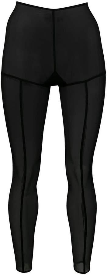 Ann Demeulemeester sheer leggings