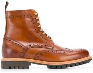 Berwick Shoes Cuero Lavato boots