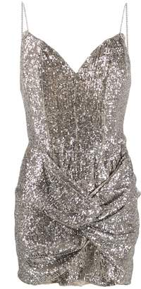 Magda Butrym Deva sequinned mini dress