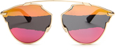 Christian Dior So Real tri-colour sunglasses
