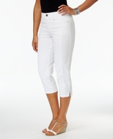 Style&Co. Style & Co Style & Co Petite Slit-Hem Capri Pants, Created for Macy's