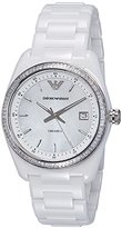 Emporio Armani Women's AR1497 Sport White Watch