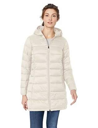 Amazon Essentials Women's Lightweight Water-Resistant Packable Puffer Coat