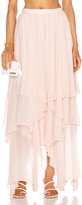 Mara Hoffman Carlotta Skirt in Blush | FWRD