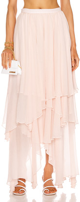Mara Hoffman Carlotta Skirt in Blush | FWRD